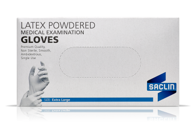 Latex Powder and Powder-Free Gloves
